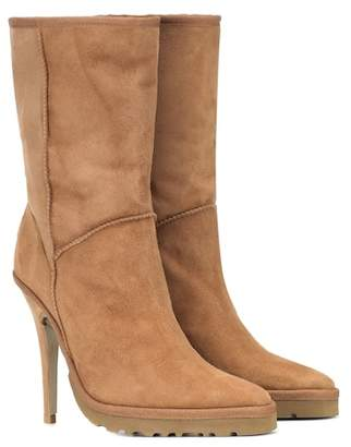 Y/Project x UGG LS1 suede ankle boots