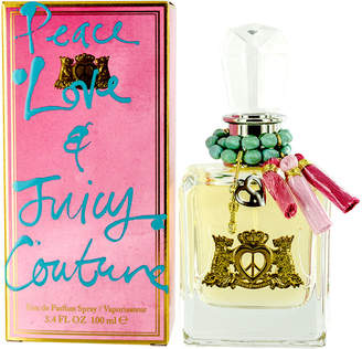 Juicy Couture Women's 3.4Oz Peace Love & Juicy Edp Spray