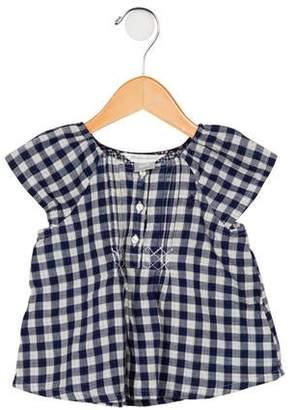 Ralph Lauren Girls' Woven Plaid Dress