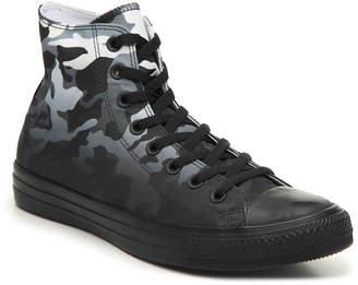 Converse Chuck Taylor All Star Hi Camo High-Top Sneaker -Black/Grey - Men's