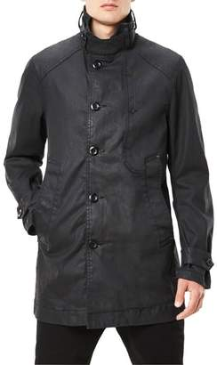 G Star Garber Denim Trench Coat