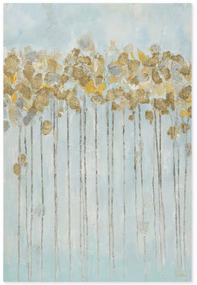 Minted Jla Home Madison Park Forest Gel-Coated Canvas Print with Gold-Tone Foiling