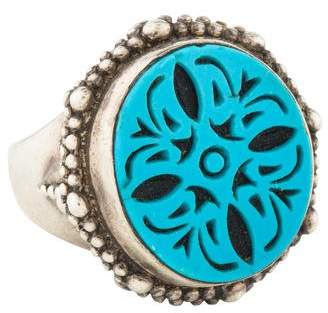 Stephen Dweck Turquoise Cocktail Ring