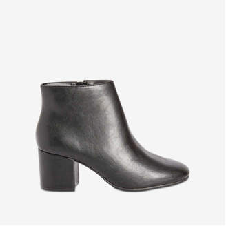 Joe Fresh Women's Side Zipper Boots, Black (Size 10)