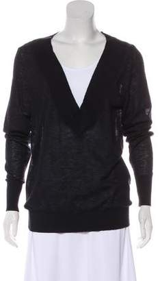 Enza Costa Cashmere Long Sleeve Sweater