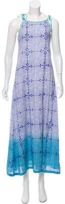 Roberta Roller Rabbit Printed Maxi Dress w/ Tags