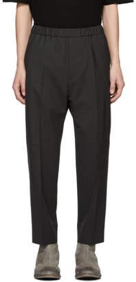 Jil Sander Grey Classic Trousers