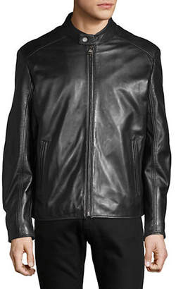 Andrew Marc Moto Leather Jacket