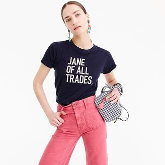 """J.Crew prinkshop for Jane of all trades"""" T-shirt"""