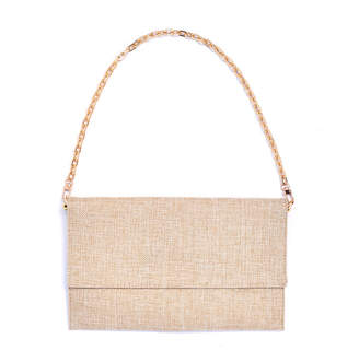 Louiseandeleanor Linen Hope Shoulder Clutch