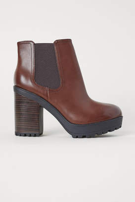 H&M Ankle Boots - Beige