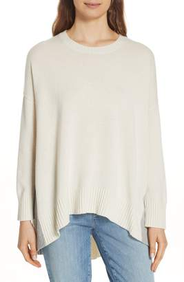 Eileen Fisher Oversize Cashmere & Wool Sweater