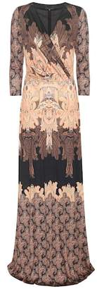 Etro Printed silk jersey dress