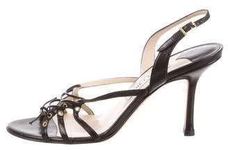 Jimmy Choo Multistrap Slingback Sandals