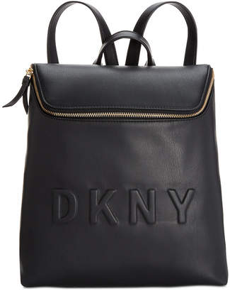 DKNY Tilly Top-Zip Bucket Backpack