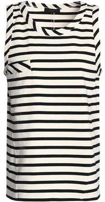 Belstaff Striped Cotton-Jersey Top