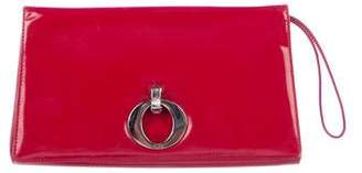 Christian Dior Patent Leather Clutch