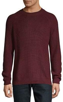 Black & Brown Black Brown Textured Raglan Sweater
