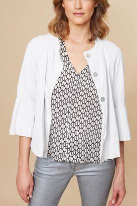 Ralph Lauren Vidal Frill Sleeve Jacket