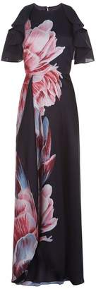 Ted Baker Ulrika Asymmetric Floral Dress