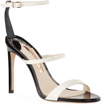 Sophia Webster Rosalind Bicolored Leather Sandals