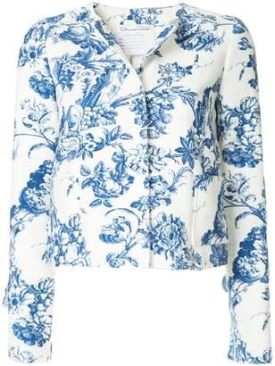 Oscar de la Renta printed jacket