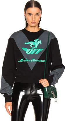 Off-White Off White Jockey Crewneck Sweater