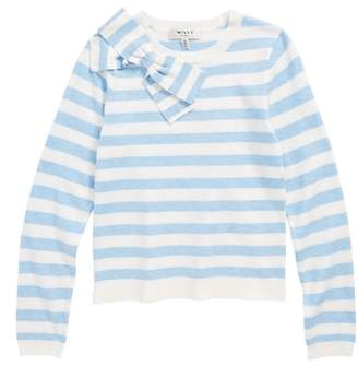 Milly Minis Bow Sweater