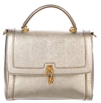 Dolce & Gabbana Miss Bonita Leather Satchel
