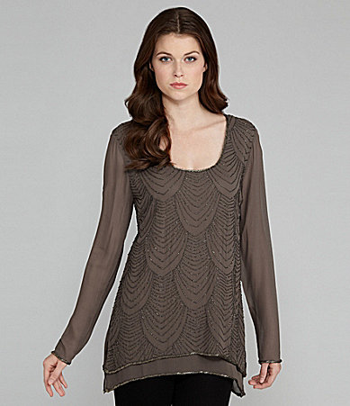 Gold Hawk Double-Layer Top