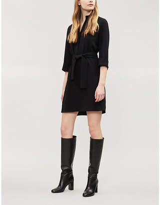 Claudie Pierlot Zip-detail woven dress