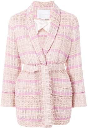 Giada Benincasa oversized tweed blazer