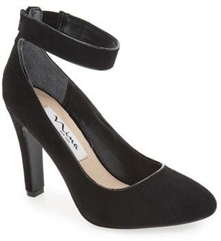 Women's Nina 'Ivelis' Ankle Strap Pump $88.95 thestylecure.com