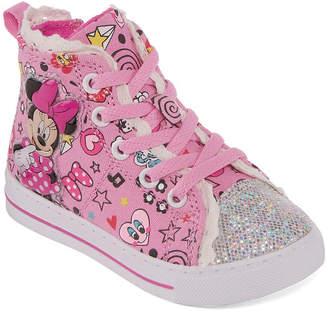 Disney Minnie Girls Walking Shoes Slip-on