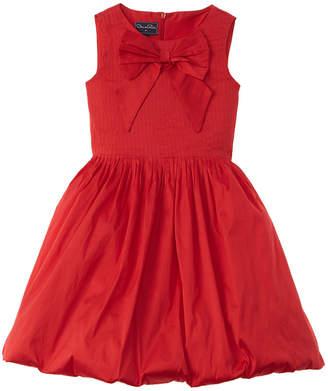 Oscar de la Renta Bubble Silk-Lined Dress
