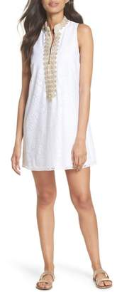 Lilly Pulitzer R) Jane Lace Shift Dress