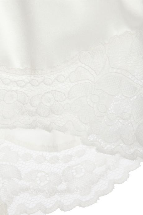 Dolce & Gabbana Stretch-silk satin briefs