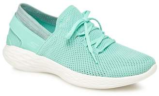 Skechers Green 'You Spirit' Slip-On Trainers