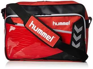 Hummel (ヒュンメル) - [ヒュンメル]ショルダーバッグ ターポリンショルダーバッグ レッド×シルバー