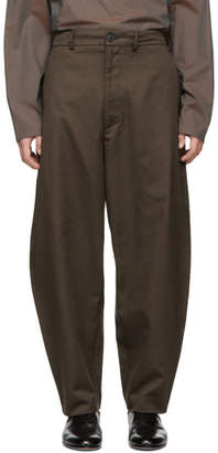House of the Very Islands Brown Wide Trousers