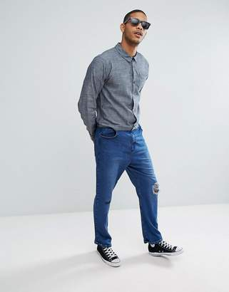 Asos DESIGN Boiler Suit In Blue