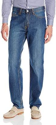 U.S. Polo Assn. Men's Relaxed Straight Fit 5 Pocket Denim Jean