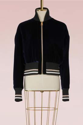Lanvin Velvet Teddy Jacket