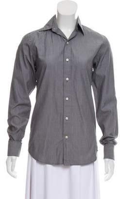 Ralph Lauren Striped Button-Up Top
