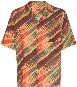 Missoni short sleeve tie dye print shirt