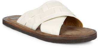 Billy Reid Men's Crossover Strap Slide Sandals