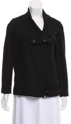 Helmut Lang Wool Asymmetrical Jacket
