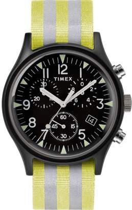 Timex R) MK1 Chronograph Nylon Strap Watch, 40mm