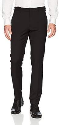 Perry Ellis Men's Very Slim Solid Linen Dress Pant