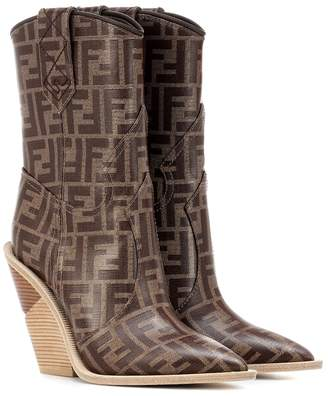 Fendi Printed cowboy boots